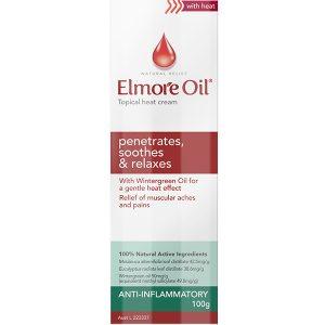 Elmore Oil Heat Cream 100g