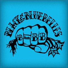 Black 'n' Blue Belles - Roller Derby